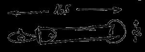 Dimensions porte clés Gregory Capel atelier de maroquinerie à Roubaix